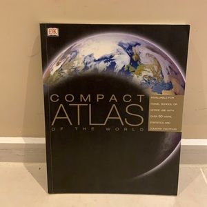 DK Compact Atlas of the World Book